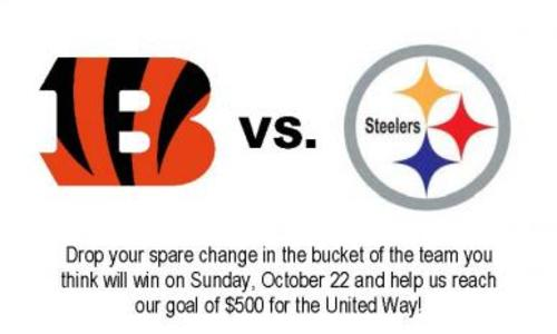 United Way Rivalry Game of the Week Bengals vs. Steelers