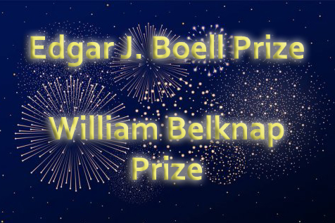 fireworks with edgar j boell prize and william belknap prize